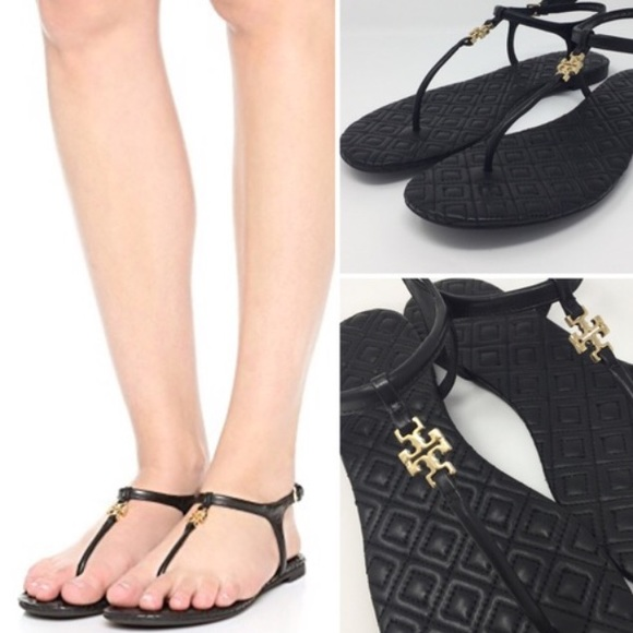 Tory Burch Marion Quilted Sandal